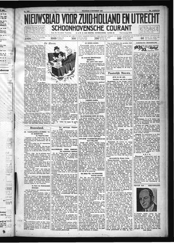 Schoonhovensche Courant 1931-11-02