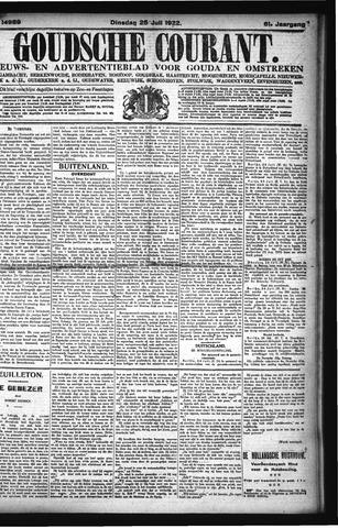 Goudsche Courant 1922-07-25