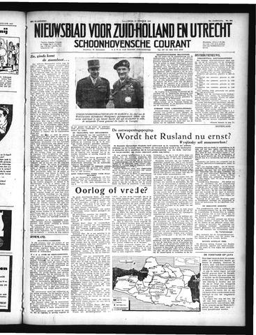 Schoonhovensche Courant 1948-10-13
