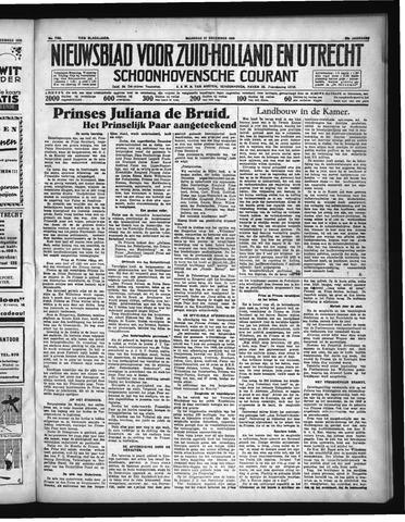 Schoonhovensche Courant 1936-12-21