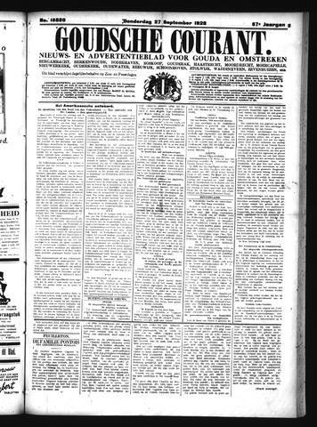 Goudsche Courant 1928-09-27