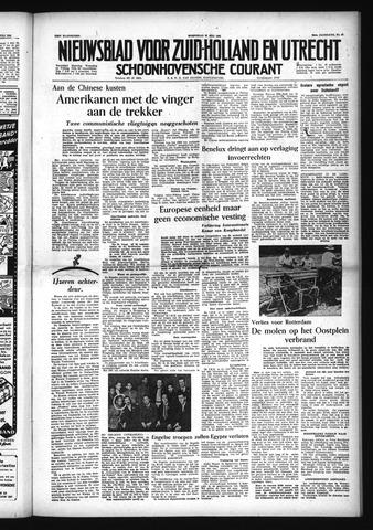 Schoonhovensche Courant 1954-07-28