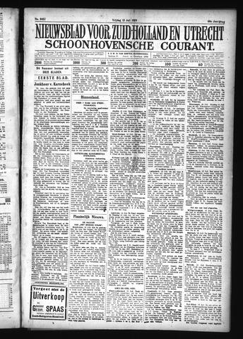 Schoonhovensche Courant 1928-07-13