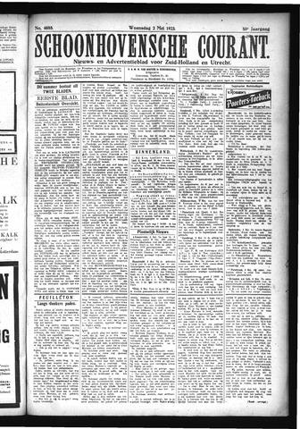 Schoonhovensche Courant 1923-05-02