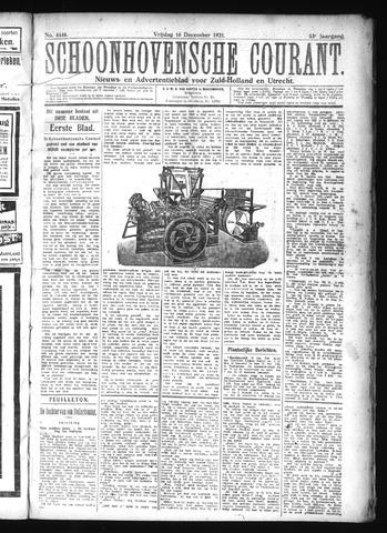 Schoonhovensche Courant 1921-12-16