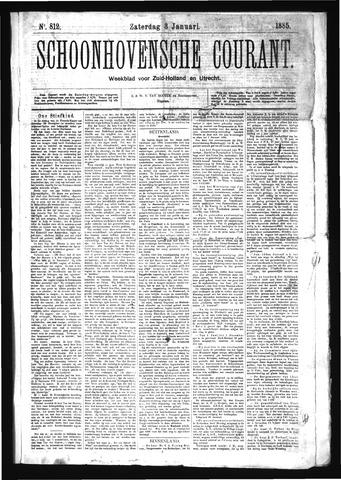 Schoonhovensche Courant 1885