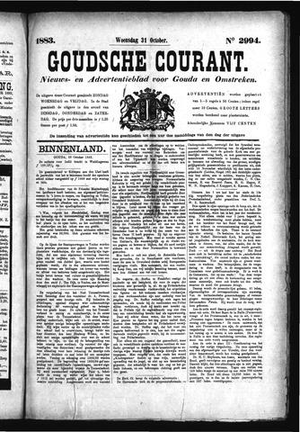 Goudsche Courant 1883-10-31