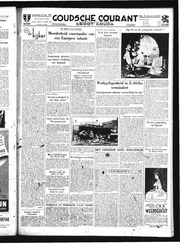 Goudsche Courant 1949-08-25