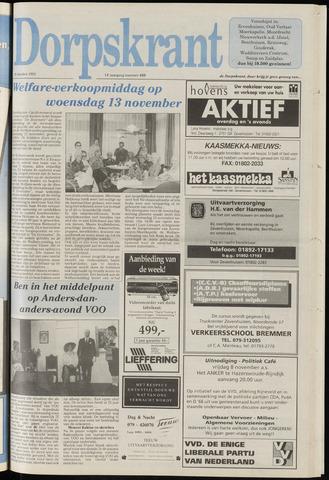 Dorpskrant 1991-10-30
