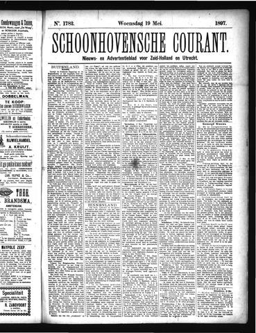 Schoonhovensche Courant 1897-05-19