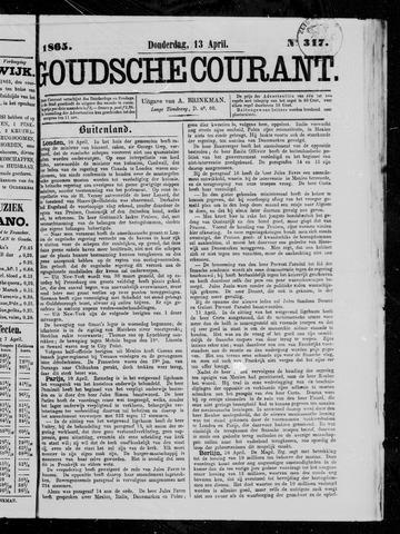 Goudsche Courant 1865-04-13