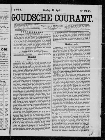 Goudsche Courant 1864-04-10