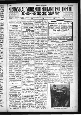 Schoonhovensche Courant 1931-09-21