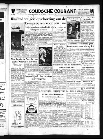 Goudsche Courant 1958-10-28