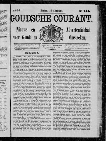 Goudsche Courant 1863-08-16