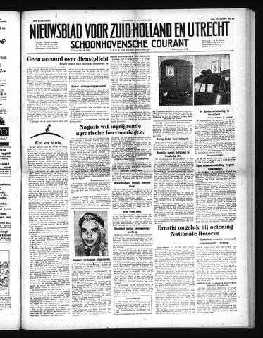 Schoonhovensche Courant 1952-08-13