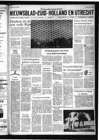 Schoonhovensche Courant 1972-10-25