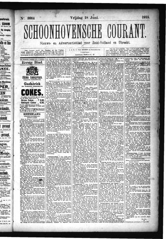 Schoonhovensche Courant 1915-06-18
