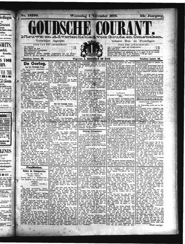 Goudsche Courant 1916-11-01