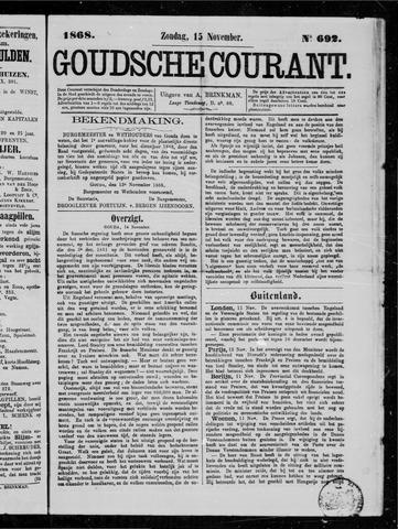 Goudsche Courant 1868-11-15