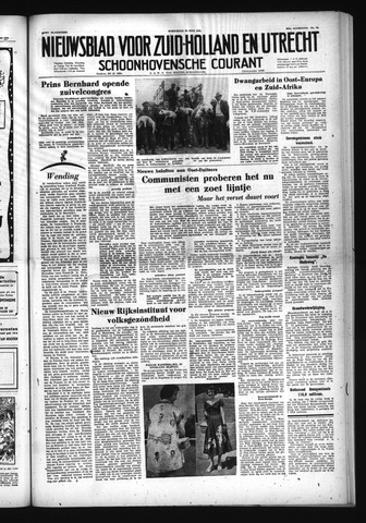 Schoonhovensche Courant 1953-06-24