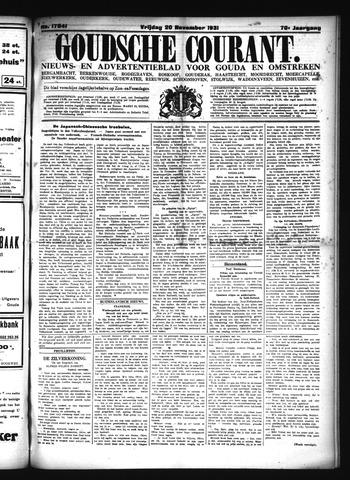 Goudsche Courant 1931-11-20