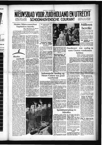 Schoonhovensche Courant 1954-11-10