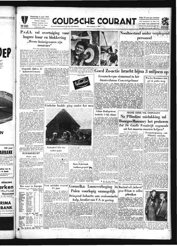 Goudsche Courant 1957-06-06