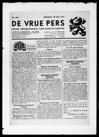 De Vrije Pers 1945-06-18