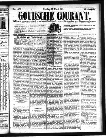 Goudsche Courant 1921-03-22