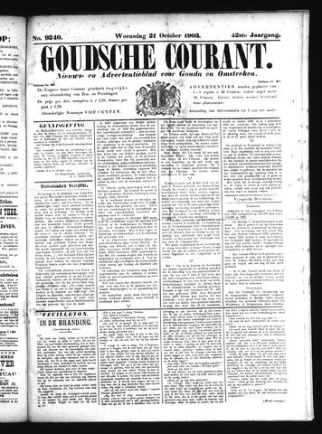 Goudsche Courant 1903-10-21