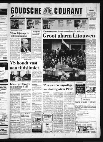 Goudsche Courant 1991-01-12