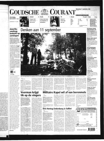 Goudsche Courant 2002-09-11