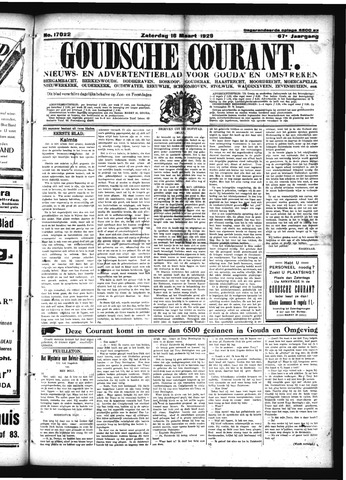 Goudsche Courant 1929-03-16
