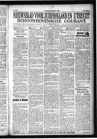 Schoonhovensche Courant 1928-11-21