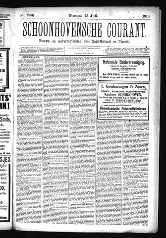 Schoonhovensche Courant 1918-07-23