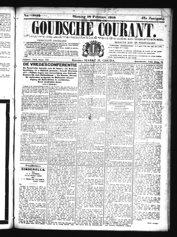Goudsche Courant 1919-02-18