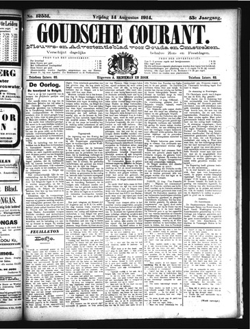 Goudsche Courant 1914-08-14