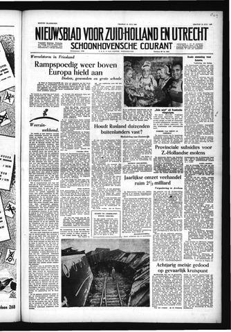 Schoonhovensche Courant 1955-07-15