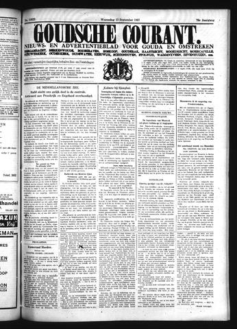 Goudsche Courant 1937-09-15