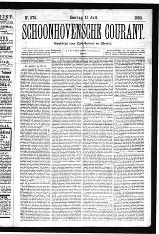 Schoonhovensche Courant 1880-07-11