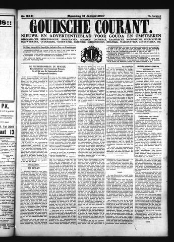 Goudsche Courant 1937-01-18