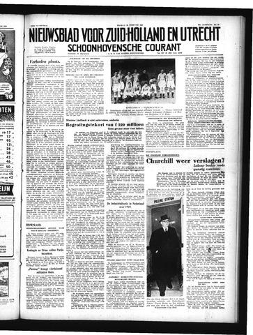 Schoonhovensche Courant 1950-02-24