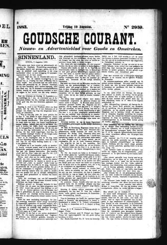 Goudsche Courant 1883-08-10