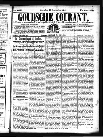 Goudsche Courant 1919-09-29