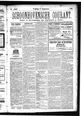 Schoonhovensche Courant 1920-08-06