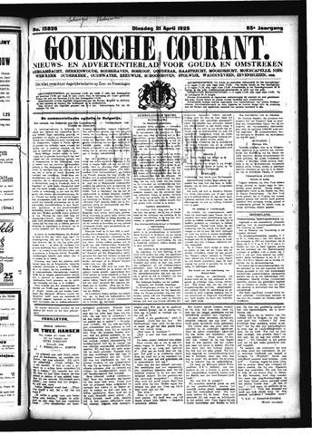 Goudsche Courant 1925-04-21