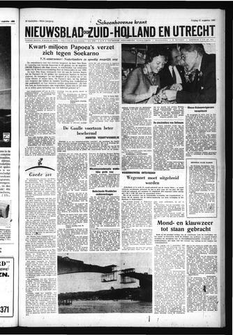 Schoonhovensche Courant 1962-08-31