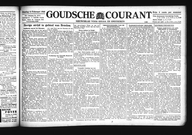 Goudsche Courant 1945-02-13