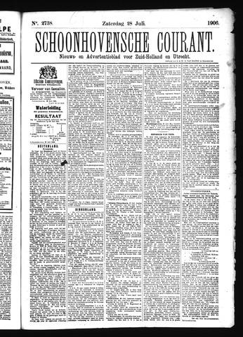 Schoonhovensche Courant 1906-07-28